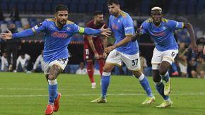 Napoli, travolto 3-0 il Legia Varsavia nel finale