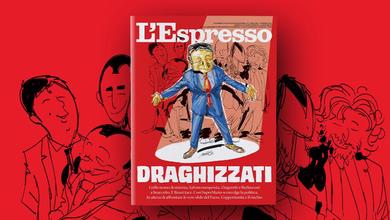 Draghizzati: L'Espresso in edicola e online da domenica 14 febbraio