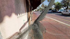 Sanremo, la rete strappata nell'ex stazione ferroviaria