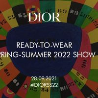 Christian Dior: la sfilata della collezione primavera-estate 2022 in live streaming