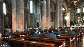 Guardia di Finanza a messa per il patrono San Matteo