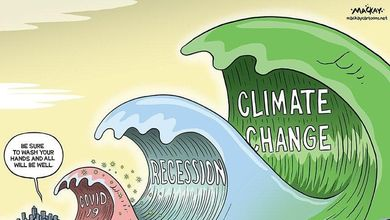 Il Covid-19 ci ha travolti come un'onda, ma il cambiamento climatico sarà uno tsunami