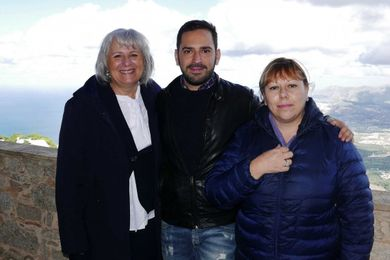 tre ricercatori Margherita Ferrante, Pietro Zuccarello e Gea Oliveri Conti