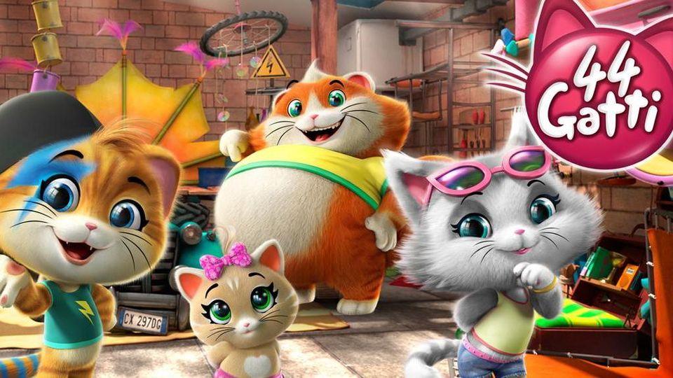 Dalla famosa canzone u201c44 gattiu201d il nuovo cartone animato sulle