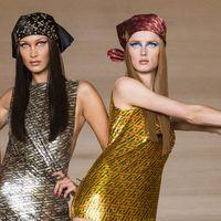 La sfilata di Versace