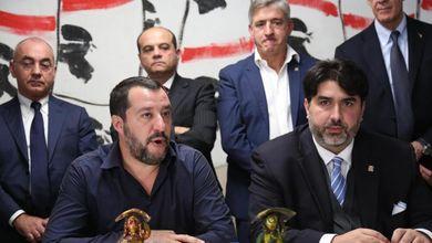 Matteo Salvini in Sardegna si affida a un