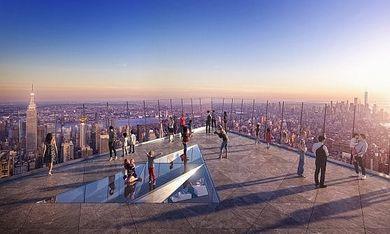 New York Ecco The Edge La Terrazza Sul Vuoto Per Vedere