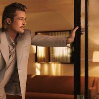Brad Pitt, tra voci di flirt e la guerra con Angelina Jolie, incarna la 'nonchalance romana' nella nuova campagna Brioni