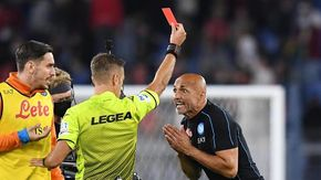 """Un turno stop a Spalletti, Mourinho, Gasperini e Inzaghi. Il tecnico del Napoli per """"tono ironico irrispettoso verso l'arbitro"""""""