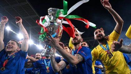 Italia, una notte da regina