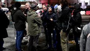 No green pass a Genova, la polizia sgombera il varco portuale di ponte Etiopia