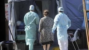 The USL promotes a fundraiser for the coronavirus health emergency