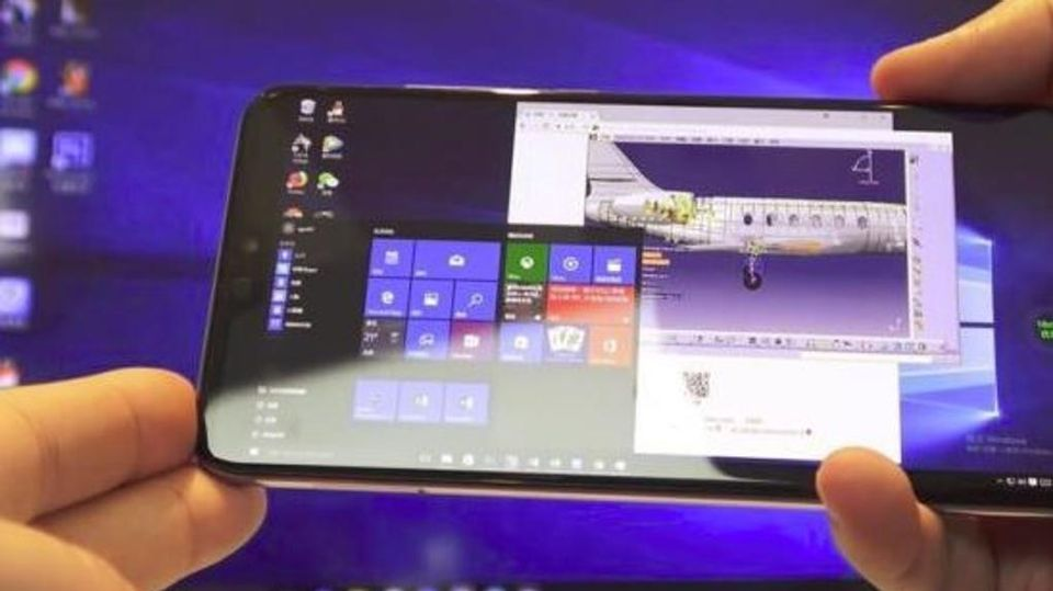 Con Unapp Gli Smartphone Huawei Diventano Pc Windows La