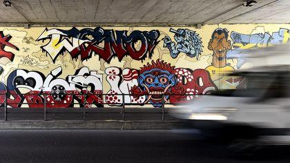 Parma, in via Trieste c'è un nuovo murales - foto
