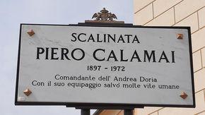 Andrea Doria, la scalinata più bella di Genova intitolata a Piero Calamai