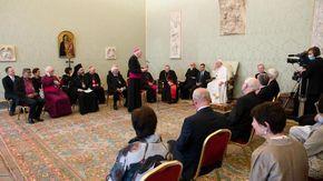 """Il Papa incontra incontro in udienza Cingolani e Cop Giovani: """"Non siete il futuro, ma il presente"""""""