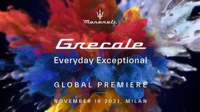 Maserati, la nuova Grecale sarà presentata il 16 novembre