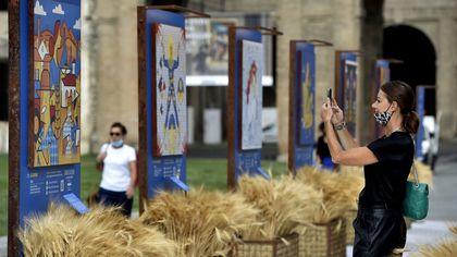 Parma, in piazza della Pace i Grani d'Autore Barilla - foto