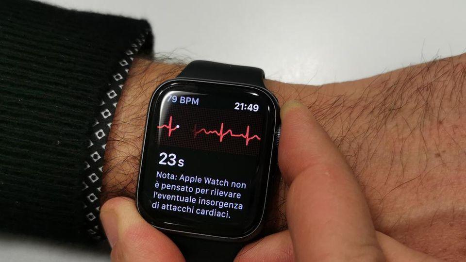 venta minorista 16f34 fe6a5 Sull'Apple Watch arriva l'elettrocardiogramma, anche in ...