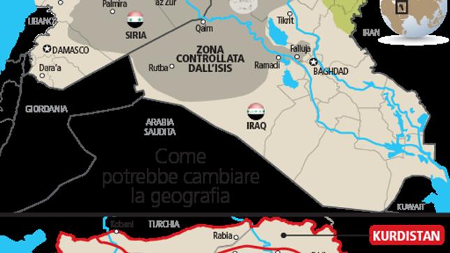 Cartina Africa E Siria.Iraq E Siria Vanno Spezzettati Dietro Aleppo E Mosul Il Piano Del