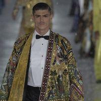 Dolce&Gabbana: la sfilata alta moda maschile