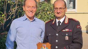 Vent'anni di servizio per il comandante della stazione dei carabinieri di Andora