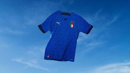 Italia in campo con la maglia più leggera di sempre