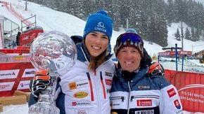 """Sci, Vlhova-Magoni divorzio su Instagram: la regina della Coppa del mondo """"licenzia"""" l'italiano"""