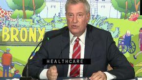 """New York, De Blasio: """"Dal 13 settembre obbligo vaccinale o tampone per i dipendenti pubblici"""""""