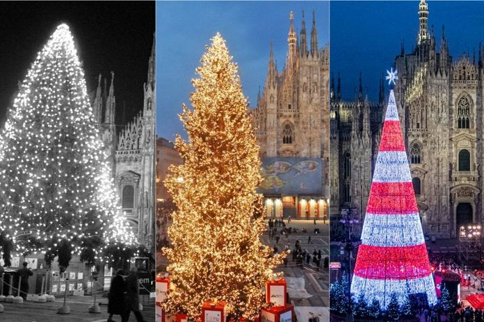 Albero Di Natale Anni 70.Dagli Anni Settanta A Oggi Come E Cambiato L Albero Di Natale Di Piazza Duomo A Milano La Repubblica