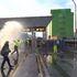 Trieste, la polizia aziona gli idranti per disperdere i manifestanti no Green Pass