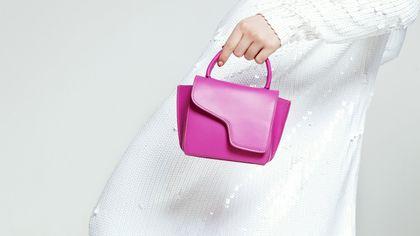Mini bag, da portare a mano o come maxi charm