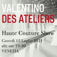 Valentino Des Ateliers: la sfilata Haute Couture in live streaming
