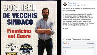 Lega e fascisti insieme alle elezioni: succede a Fiumicino