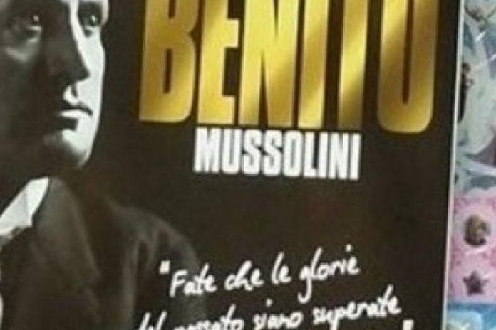 Calendario Mussolini 2020.Imperia Un Supermarket Espone Un Calendario Di Mussolini