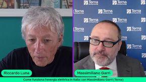 TeckTalk con Massimiliano Garri di Terna: come funziona l'energia elettrica in Italia