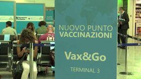 Vaccini in aeroporto, presentato il Vax & Go allo scalo di Fiumicino