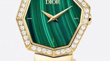 L'orologio Couture ispirato ai campioni di tessuto di Monsieur Dior