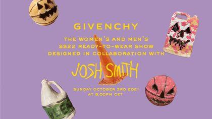 Givenchy: la sfilata della collezione primavera-estate 2022 in live streaming
