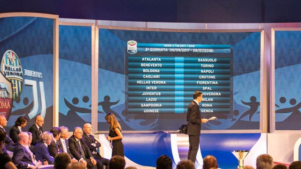 Calendario Benevento Calcio.Il Calendario Di Serie A Della Stagione 2017 2018 La Stampa