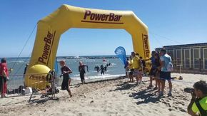 Lo sport fa spettacolo a Sanremo con gli atleti di triathlon