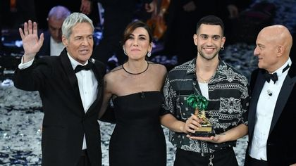 Sanremo, 10 milioni e mezzo di spettatori per la serata finale