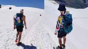 """Montagna: sul ghiacciaio male equipaggiati l'allarme del soccorso alpino valdostano, """"a rischio la vita in caso di caduta in un crepaccio"""""""
