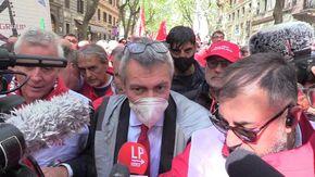 """Manifestazione """"Mai più fascismo"""", Landini: """"Non è una piazza di parte, oggi difendiamo la libertà di tutti"""""""