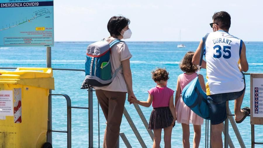 Families mainly go on vacation (Agf)