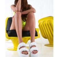 Il sandalo intrecciato in econappa