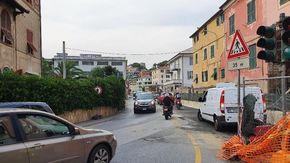 Riaperta l'Aurelia a Celle Ligure dopo tre anni di cantiere