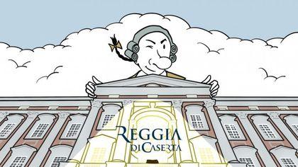 Reggia di Caserta, una rubrica a fumetti per rispondere a domande e curiosità dei visitatori del museo