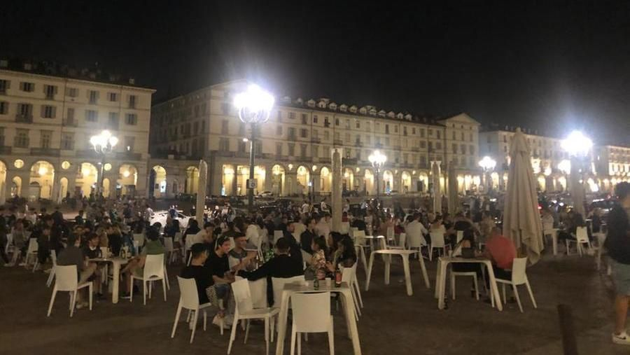 Coronavirus, Turin and the nightlife: after yesterday's attack, the rehearsal of nine tonight