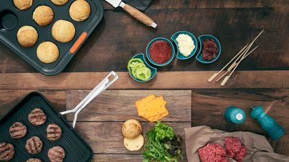 Gli utensili per il perfetto hamburger fatto in casa